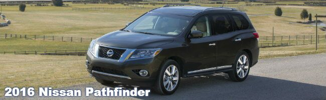2016 nissan pathfinder information specifications features