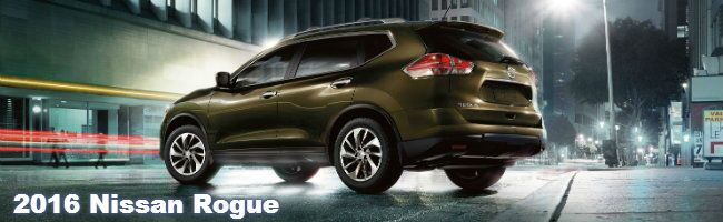 2016 Nissan Rogue features and specifications