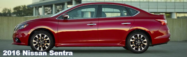 2016 Nissan Sentra specifications and features