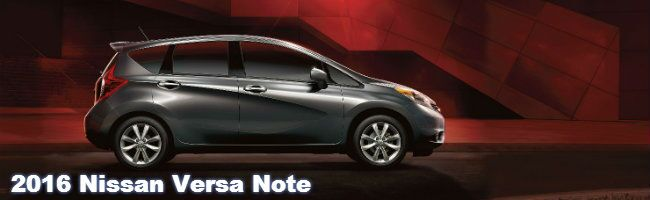 2016 nissan versa note specs and features