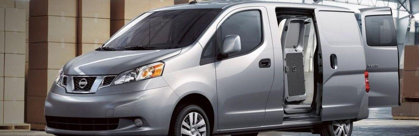 silver 2019 Nissan NV200 Compact Cargo Van
