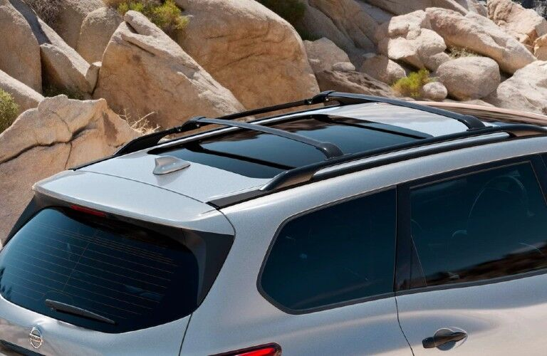 2020 Nissan Pathfinder roof rails