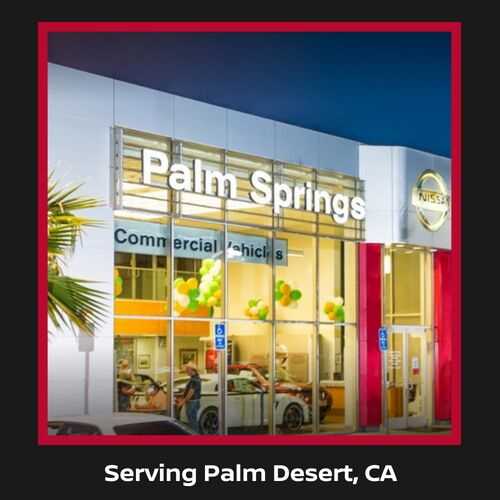 Nissan Dealer near Palm Desert, CA