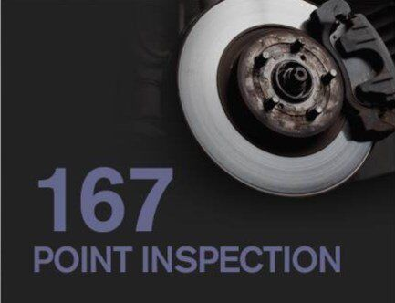Nissan 167-point inspection