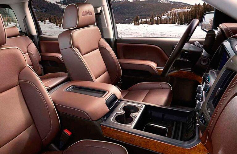 interior of the 2015 Chevy Silverado
