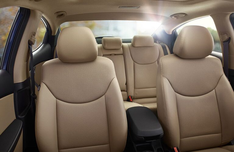 The interior of the 2016 Hyundai Elantra is almost the size of a midsize sedan