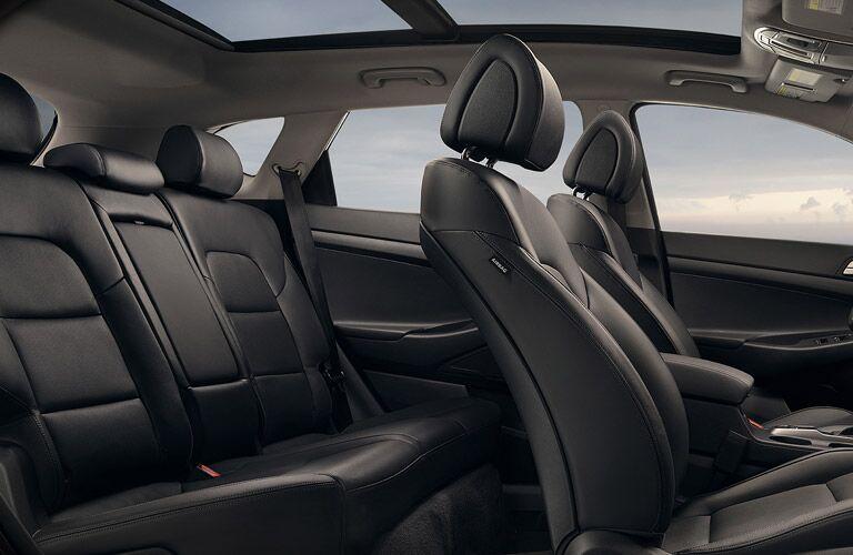 2016 Hyundai Tucson generous back seat