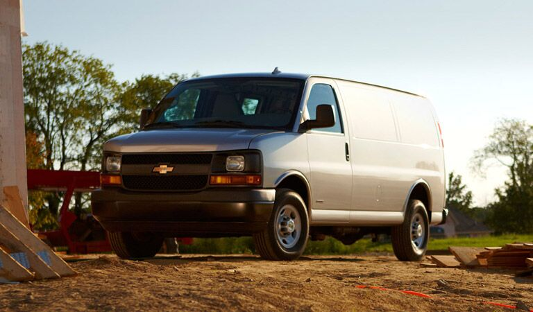Chevy Express van good for personal and commercial service