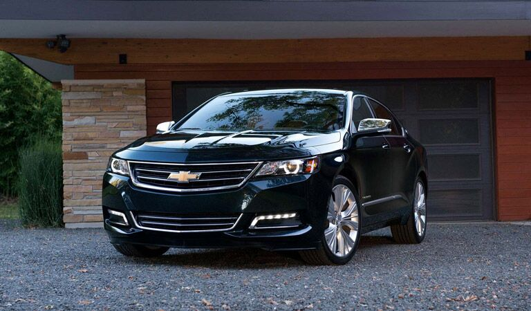 Spacious and powerful black Chevy Impala