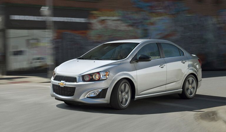Chevy Sonic subcompact car at Broadway Automotive