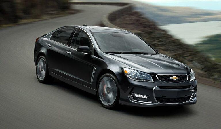 Chevy SS super-fast performance sedan