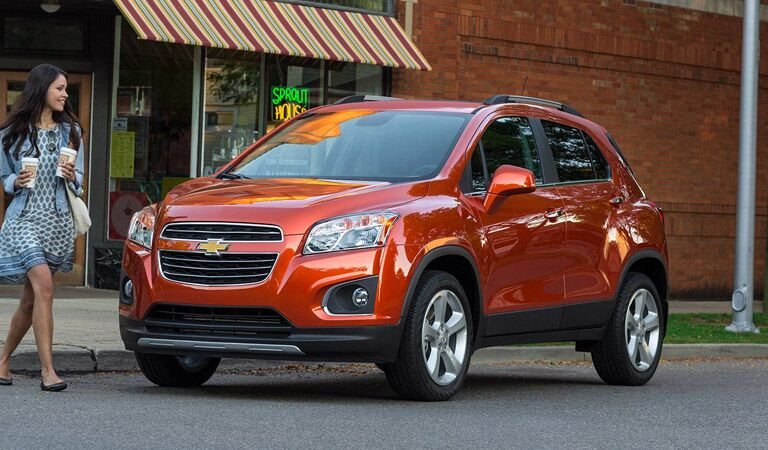 Compact and fuel efficient Chevy Trax crossover