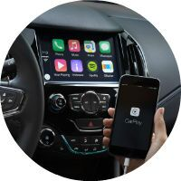 2016 Chevy Cruze CarPlay and Android Auto connectivity