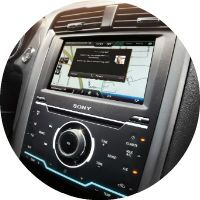MyFord Touch on the 2016 Ford Fusion