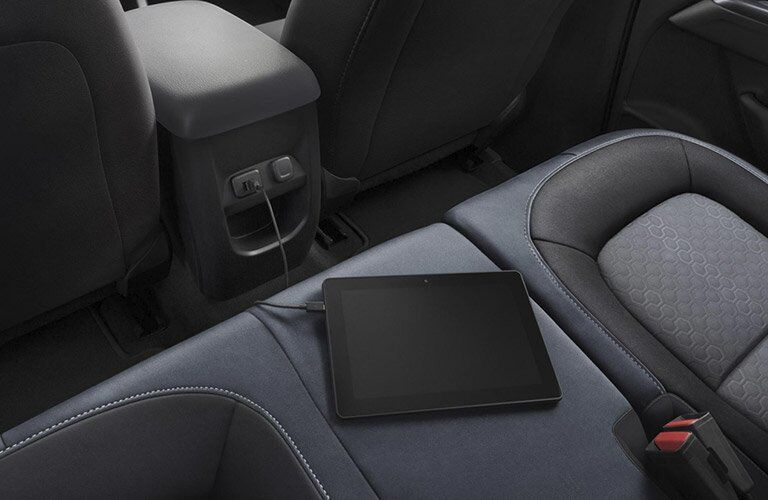 2017 Chevy Colorado interior outlet charging device
