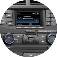 SYNC system standard on the 2017 Ford Explorer