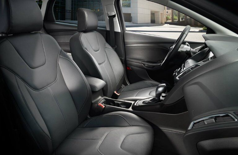 2017 Ford Focus interior front seating area