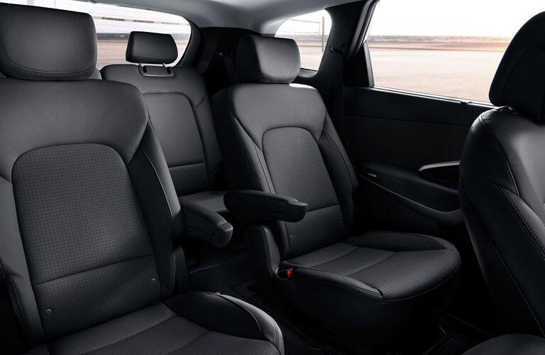 2017 Hyundai Santa Fe interior seating