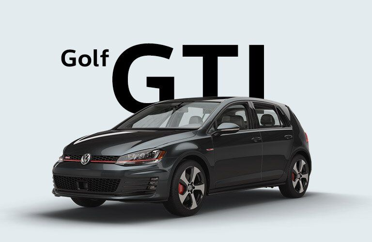 2017 Volkswagen Golf GTI xterior Driver Side Front Profile with Nameplate