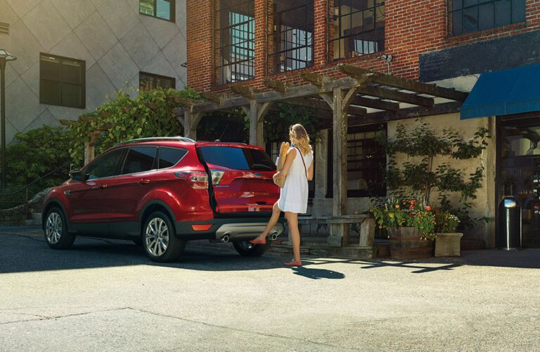 2017 Ford Escape hands-free liftgate