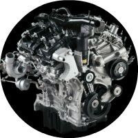 2015 Ford Focus Ecoboost engine