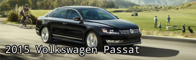 2015 Volkswagen Passat information and specs