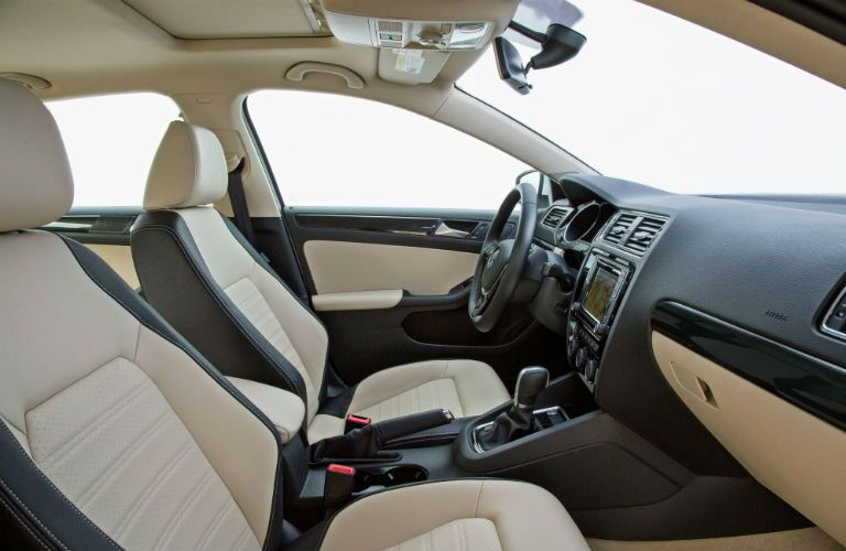 2016 VW Jetta interior seating trim