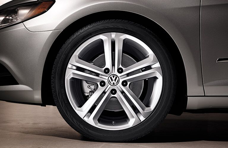 2016 VW CC R-Line wheels