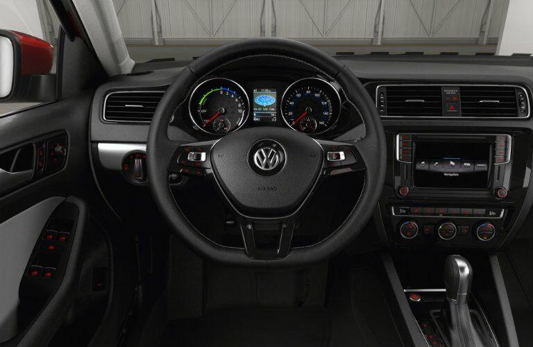 2016 Volkswagen Jetta Hybrid power display