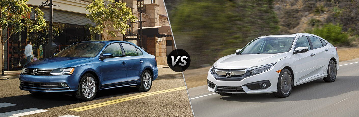 2017 Volkswagen Jetta vs. 2017 Honda Civic