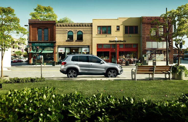 2017 Volkswagen Tiguan exterior styling