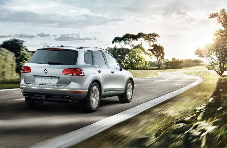 2017 Volkswagen Touareg exterior appearance