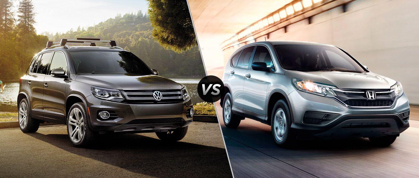 2016 Volkswagen Tiguan vs 2016 Honda CR-V