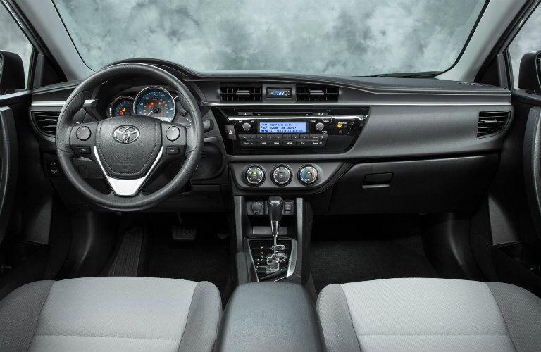 2016 Toyota Corolla interior features vs Jetta