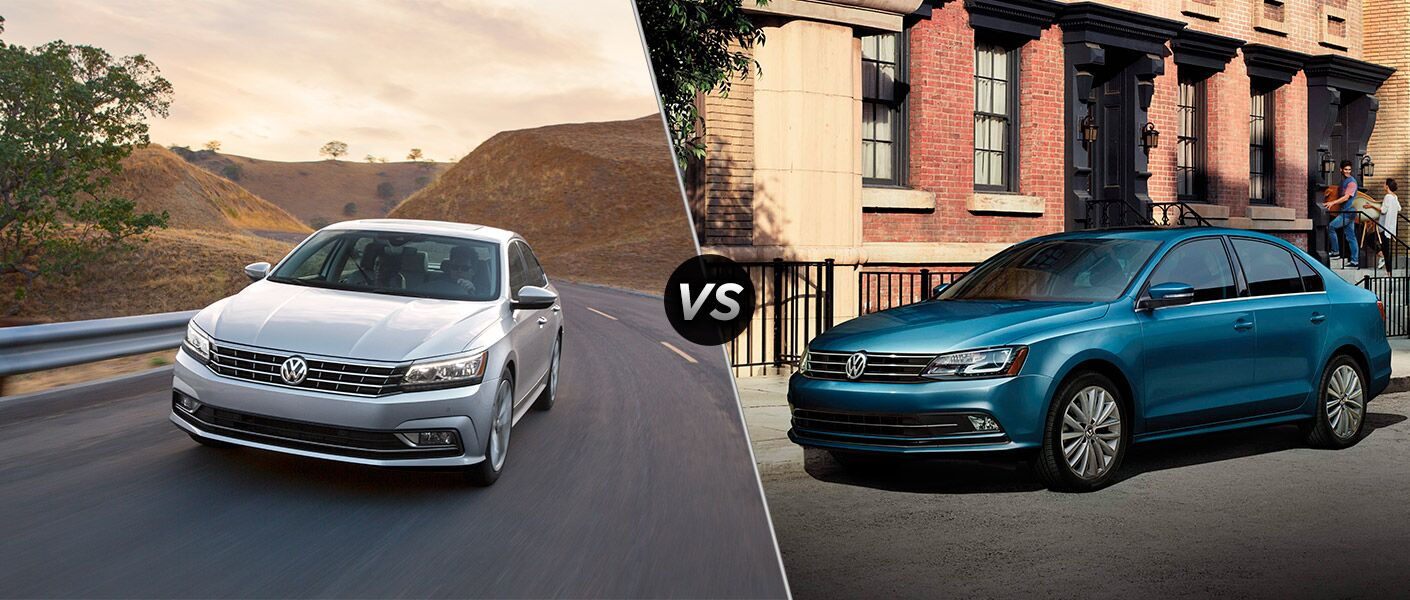 2016 Volkswagen Passat vs 2016 Volkswagen Jetta