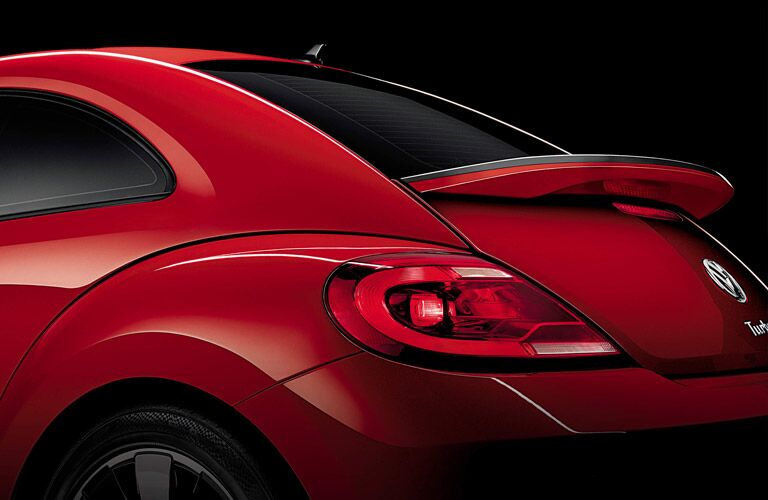 taillights and rear design of beetle
