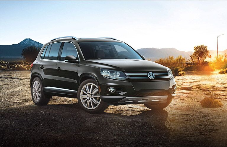 2016 VW Tiguan exterior styling