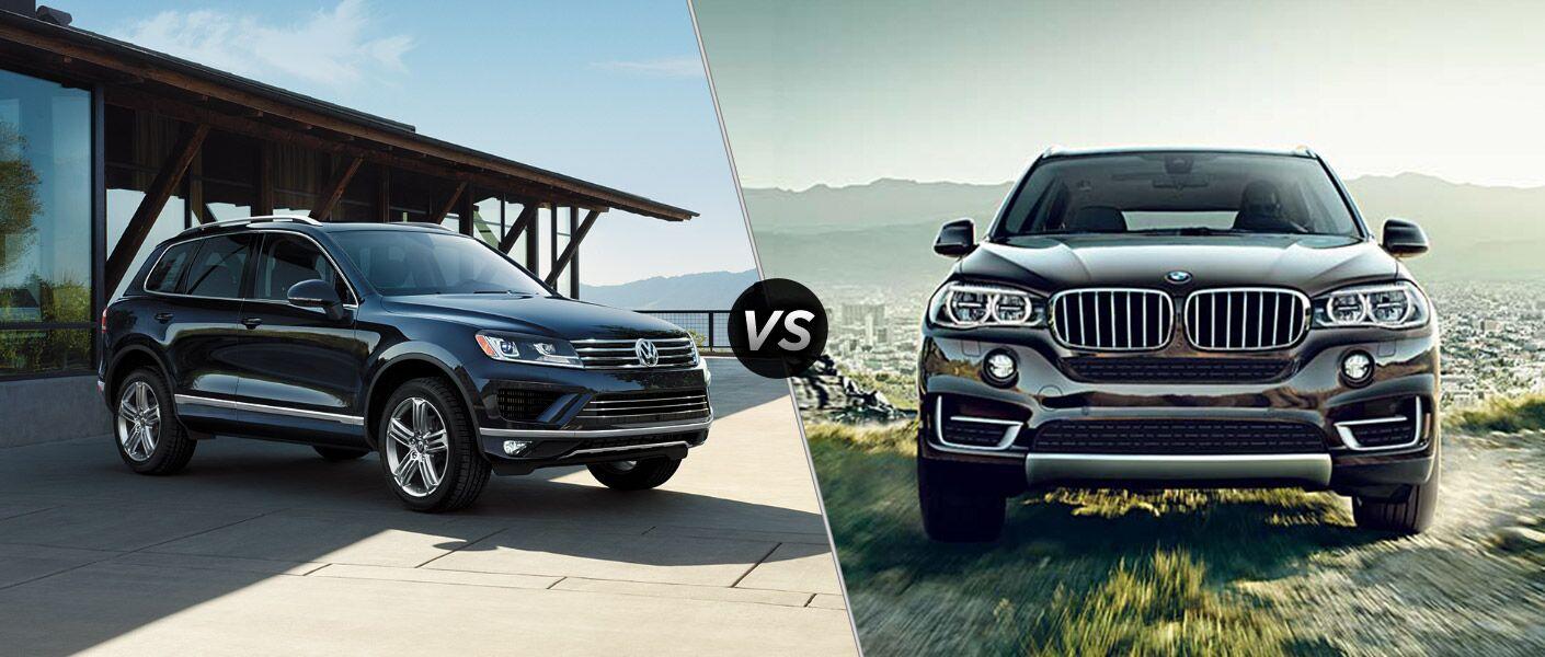 2016 Volkswagen Touareg vs 2016 BMW X5