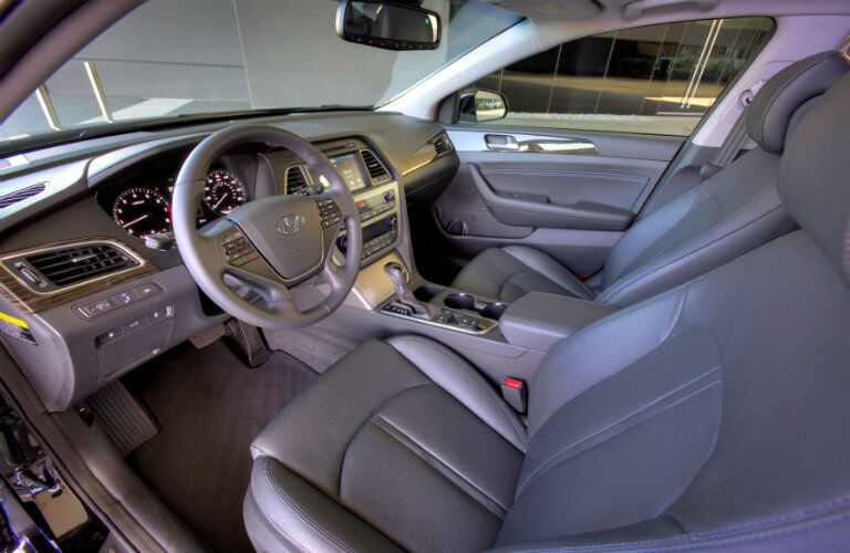 2016 hyundai sonata interior technology and features