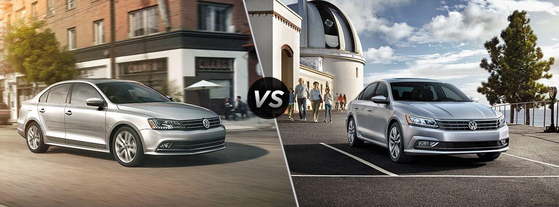 2016 Volkswagen Jetta vs 2016 Volkswagen Passat
