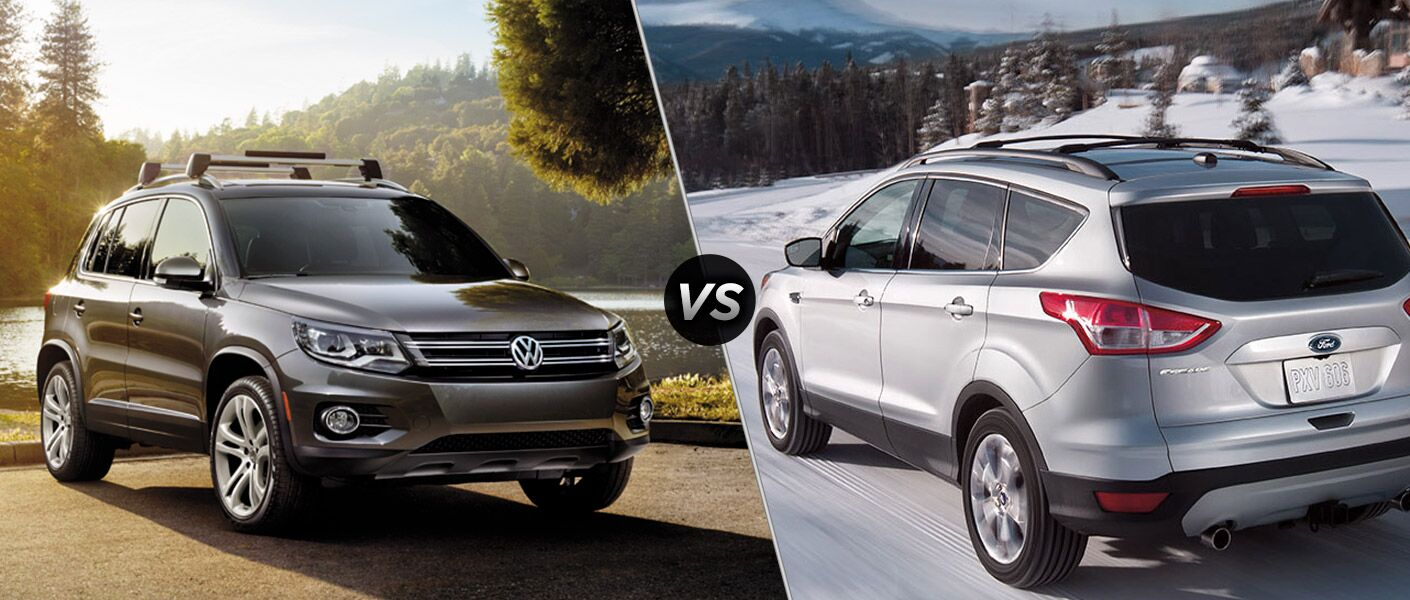 2016 Volkswagen Tiguan vs 2016 Ford Escape