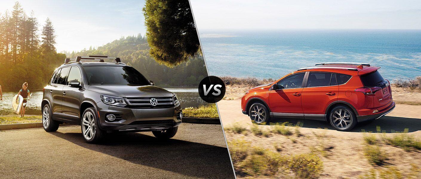 2016 Volkswagen Tiguan vs 2016 Toyota RAV4