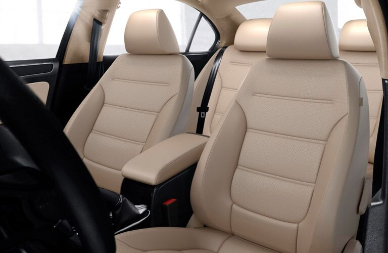 front seating in 2017 vw jetta