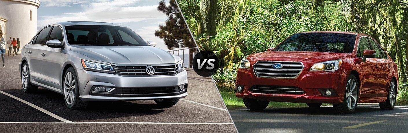 2017 Volkswagen Passat vs 2017 Subaru Legacy