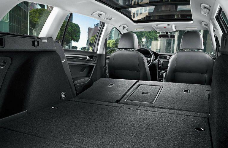 cargo space in volkswagen sportwagen
