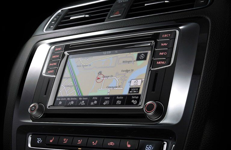 2017 Volkswagen Jetta touchscreen display