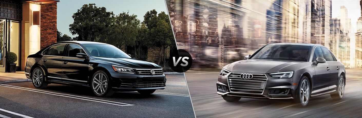 2017 VW Passat vs 2017 Audi A4