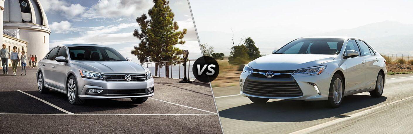 2017 Volkswagen Passat vs 2017 Toyota Camry