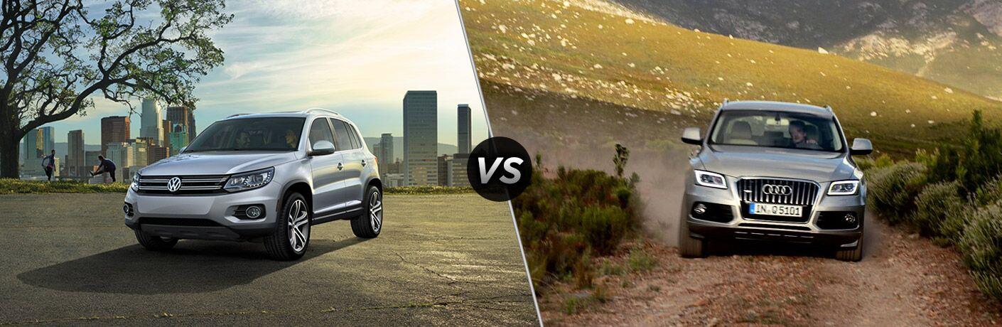 2017 Volkswagen Tiguan vs 2017 Audi Q5