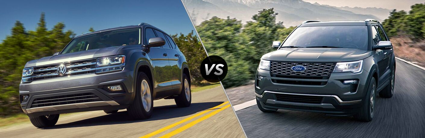2018 volkswagen atlas vs 2018 ford explorer
